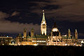 Ottawa - On - Parliament Buildings National Historic Site of Canada - Night.jpg
