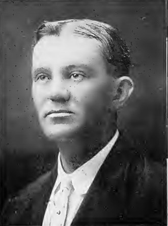 Houston Buffaloes - Otto Sens, co-owner of the Houston Buffaloes from 1908 until 1920