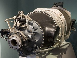 Pratt & Whitney Canada PT6 - A PT6A-20 on display at the Canada Aviation and Space Museum