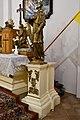 Pér, római katolikus templom, Nepomuki Szent János-szobor 2021 02.jpg