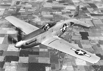 53rd Weapons Evaluation Group - Long-range North American P-51H 44-644182