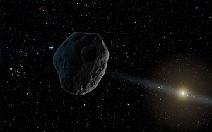 2016 WF9 - Image: PIA21259 Celestial Object 2016 WF9, a NEOWISE Discovery (Artist Concept)