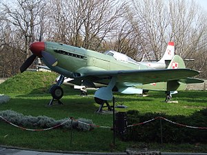 Yakovlev Yak-9 - Yak-9 with Polish markings.