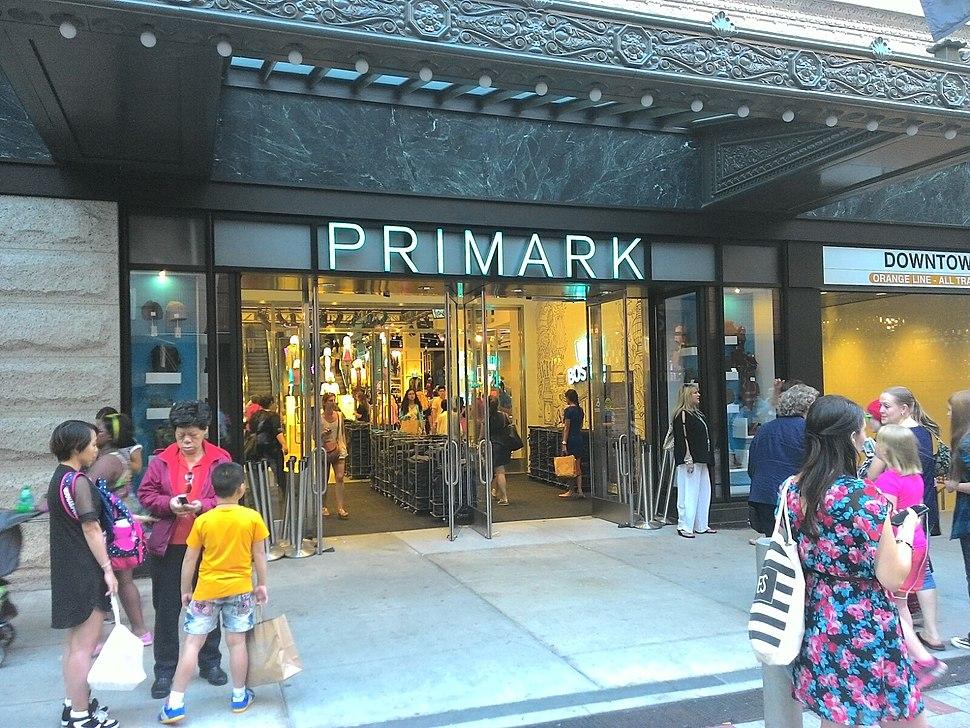 PRIMARK store Boston Massachusetts 09172015