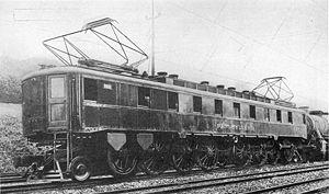 Pennsylvania Railroad class FF1 - Image: PRR FF1