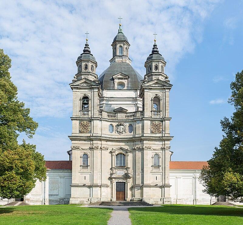 Pažaislio vienuolynas, монастырь в Пажайслис (Каунас)