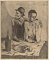 Pablo Picasso, The Frugal Repast (Le repas frugal), 1904, NGA 53092.jpg