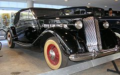 Packard Super Eight 1502 model 1937 (króla Rumunii Karola II)