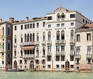 Daniel Sargent Curtis - The Palazzo Barbaro, bought by Curtis in 1885.