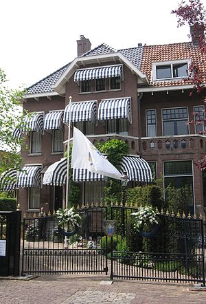 Pim Fortuyn - Fortuyn's house in Rotterdam where he lived from 1998 until his death