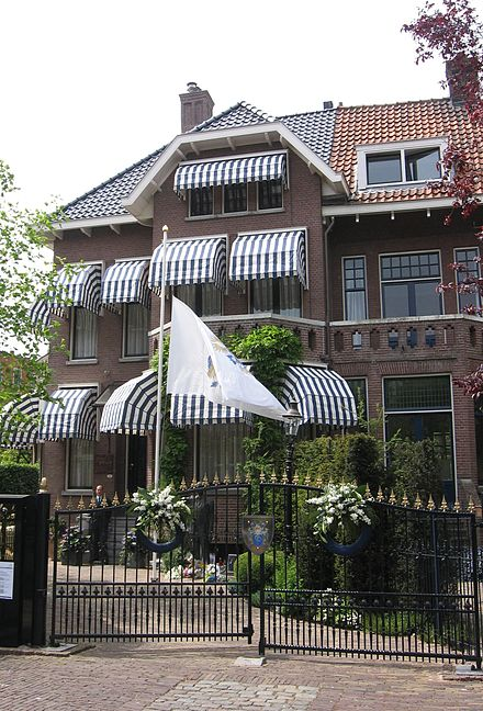 Fortuyn's house in Rotterdam where he lived from 1998 until his death Palazzo di Pietro Rotterdam.jpg