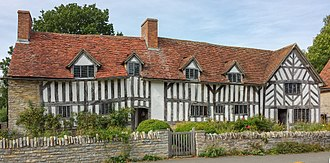 Wilmcote - Image: Palmer's Farmhouse (aka Mary Arden's House)