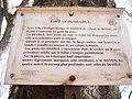 Panneau informatif sur le rocher des Pas du Diable.jpg