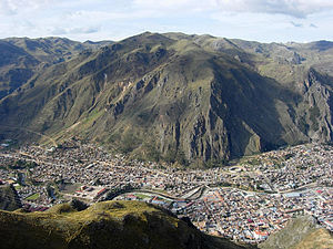 Huancavelica - Panorama of the city