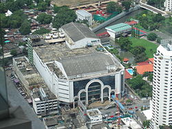 Pantip Plaza taken from Baiyoke Tower 2.jpg