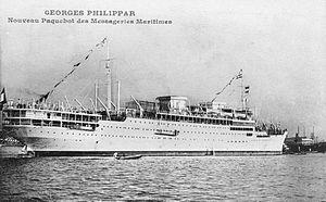 MS Georges Philippar - Image: Paquebot Georges Philippar (1931)