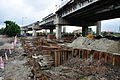 Parama-Park Circus Flyover & Underpass Under Construction - John Burdon Sanderson Haldane Avenue - Science City Area - Kolkata 2012-07-31 0565.JPG