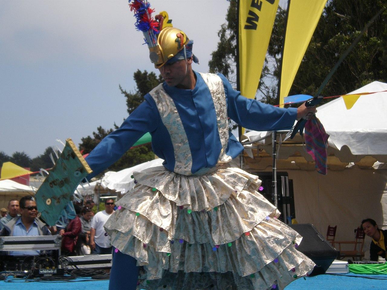 Parangal dance company philippine folk dance - File Parangal Dance Co Performing Sagayan At 14th Af Afc 07 Jpg