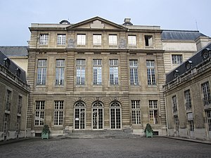Pierre-Alexis Delamair - Hôtel de Rohan, Paris