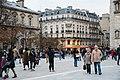 Paris 75004 Parvis Notre-Dame Rue du Cloître-Notre-Dame 20161028.jpg