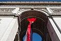 Paris Arc de Triomphe de l'Étoile 20170526 flag (04).jpg
