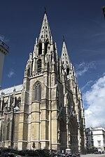 Paris Basilique Sainte Clotilde left side view.jpg