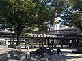 Park in front of north entrance of Sannomiya Station (JR).JPG