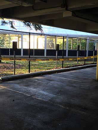 Canisius College - Carpool section of ramp