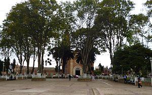Mosquera, Cundinamarca - Central square of Mosquera