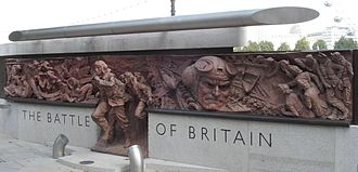 Battle of Britain Monument, London - A section of the Battle of Britain Monument