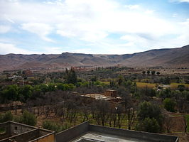 Partial view over Taliouine in Morocco.jpg