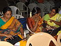 Participants of Tamil Computing and Wikipedia at Erode Chikkaiah Naicker College.JPG
