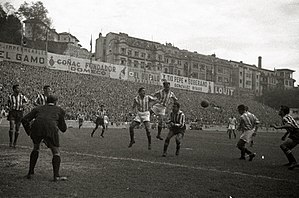 Atotxa Stadium - Real Sociedad game at Atotxa in 1952