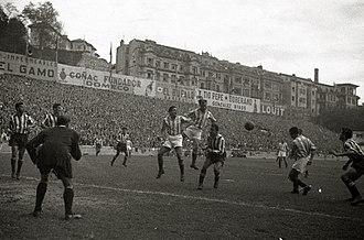 Atotxa Stadium - Real Sociedad game at Atotxa in 1952
