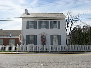 Passavant House - Passavant House, April 2009