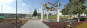 Yaacov Pat - Pat neighbourhood in Jerusalem: Goren-Goldstein Park and the Hebrew-Arabic School