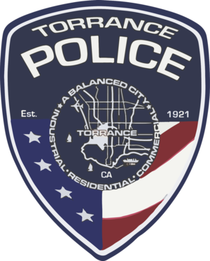 Torrance Police Department - Image: Patch of the Torrance Police Department