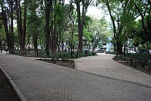 Parque España - Path in Parque España