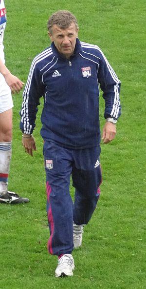 Patrice Lair - Image: Patrice Lair (Olympique Lyonnais, coach)