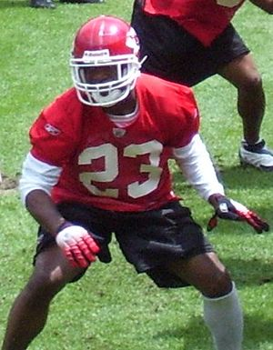Patrick Surtain - Surtain at a 2007 Chiefs mini camp.