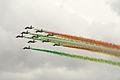 Patrulla acrobática Frecce Tricolori de la Aeronautica Militare Italiana (15536010511).jpg