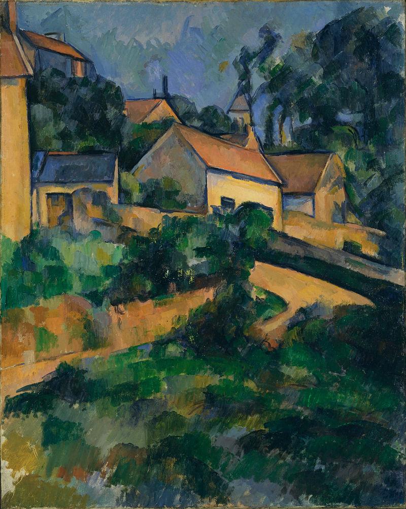 Paul Cézanne - La Route tournante à Montgeroult - Google Art Project.jpg