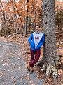 Paul Landry hiking in Downeast Maine.jpg