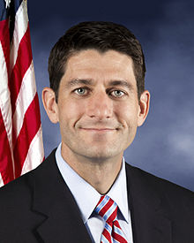 A portrait photograph of Paul Ryan's family