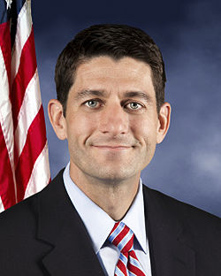 Official portrait of Paul Ryan Image: US Congress.