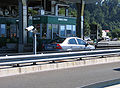 Paying toll in Slovenia.jpg