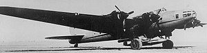 10Kh - Pe-8 with 10Kh under fuselage