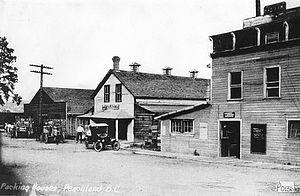 Peachland, British Columbia - Peachland, circa 1910-35