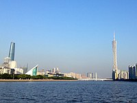 Guangzhou day skyline