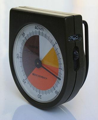 Pedometer - Mechanical pedometer